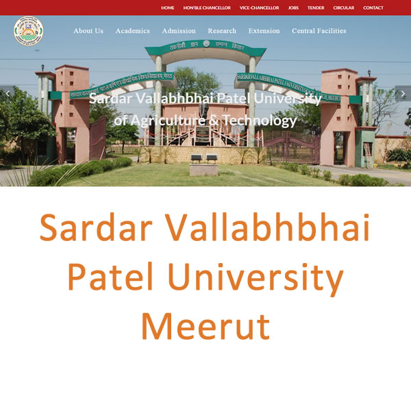 Sardar Vallabhbhai Patel University Meerut